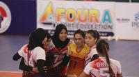Putri Bank Jatim lolos ke final PGN Livoli 2018 Divisi Utama usai mengalahkan PGN Popsivo Polwan 3-1  di GOR Ki Mageti, Magetan, Jumat (2/11/2018). (foto: PBVSI)
