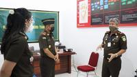 Kepala Kejati Sulsel, Firdaus Dewilmar memberikan pengarahan kepada sejumlah penyidik pidsus (Liputan6.com/ Eka Hakim)