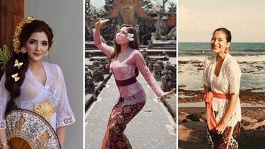 [Fimela] Artis Cantik Indonesia Berbusana Bali