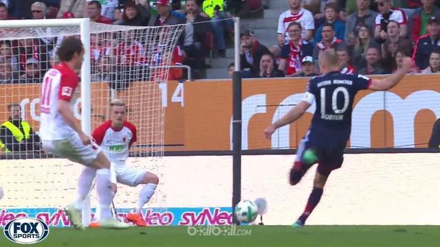 Bayern Munich menjadi juara Bundesliga musim ini dengan sisa lima pertandingan sehabis menang 4-1 atas Augsburg, Sabtu (7/4). Gol ...