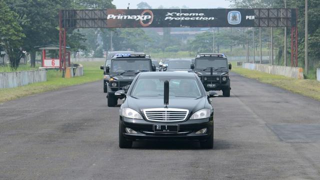 Jokowi Tinjau Sirkuit Sentul
