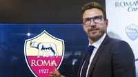Eusebio Di Francesco menjadi pelatih baru AS Roma untuk 2017/2018. (AP Photo/Angelo Carconi)