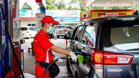 Pertamina terus melakukan serangkaian edukasi dan aktivasi untuk meningkatkan tingkat konsumsi BBM diesel yang berkualitas, yaitu Dex Series. (Dok Pertamina)