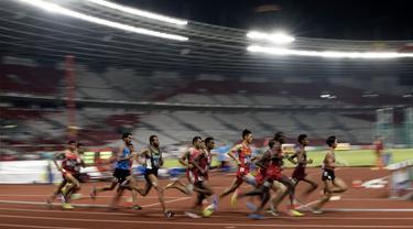 Atletik : 3000 meter steeplechase