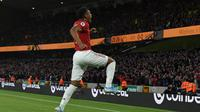 Striker Manchester United (MU), Anthony Martial (PAUL ELLIS / AFP)