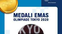 Greysia Polii dan Apriyani Rahayu Sumbang Emas Pertama untuk Indonesia di Olimpiade Tokyo 2020. (Sumber : dok. vidio.com