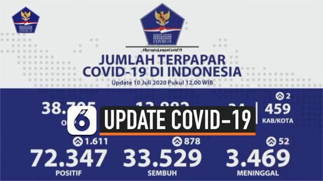 update covid 10 juli