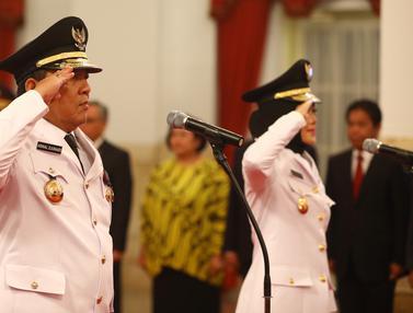 Pelantikan Gubernur dan Wagub Lampung