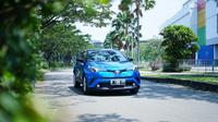 Pengujian Toyota C-HR dilakukan sejumlah awak media di kawasan Ancol, Jakarta Utara. (Dok TAM)