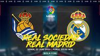 La Liga: Real Sociedad Vs Real Madrid. (Bola.com/Dody Iryawan)