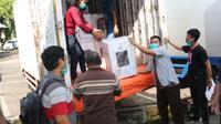 Logistik Pilkada Medan didistribusikan