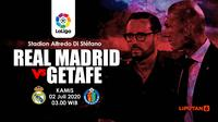 REAL MADRID VS GETAFE (Liputan6.com/Abdillah)