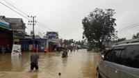 Banjir di Samarinda Kalimantan Timur (Foto: Liputan6.com / Abelda Gunawan)