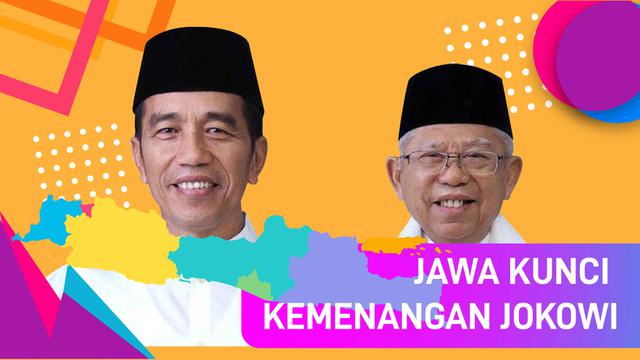 Jawa Kunci Kemenangan Jokowi
