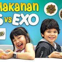 Makanan BTS VS EXO