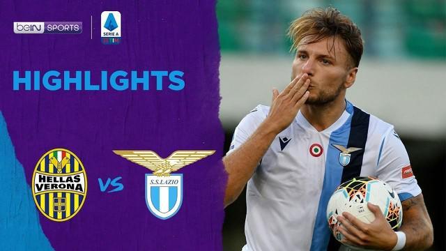 Berita Video Highlights Serie A, Ciro Immobile Cetak Hattrick Saat Lazio Jungkalkan Verona 5-1