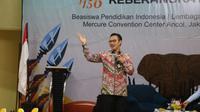 Kepala BKKBN Hasto Wardoyo menjadi pembicara bagi peserta Program Persiapan Keberangkatan (PK) Lembaga Pengelola Dana Kegiatan Pendidikan (LPDP) angkatan 156, Selasa (4/02/2020) di Mercure Hotel Ancol, Jakarta. (Dok Badan Kependudukan dan Keluarga Berencana Nasional/BKKBN)