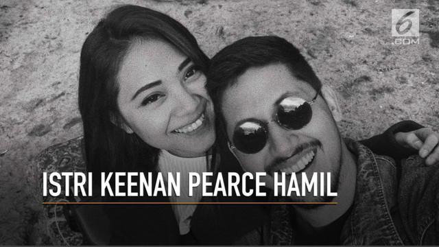Gianni Fajri , istri Keenan Pearce mengandung buah cinta mereka yang pertama.
