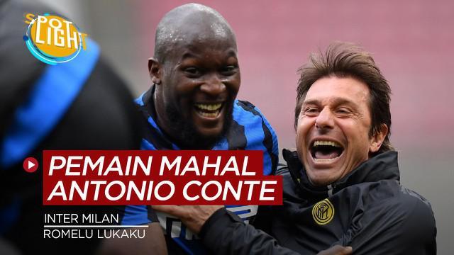 Berita video spotlight tentang empat pemain termahal yang dibeli Antonio Conte saat di Inter Milan.