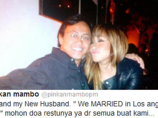 Sudah Nikah Lagi Pinkan Mambo Pamer Foto Suami Showbiz Liputan6 Com