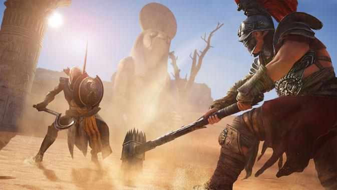 Ubisoft Rilis Trailer baru Assassin's Creed Origins