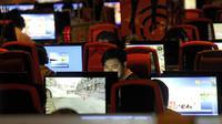 Pengguna internet di China (AFP)