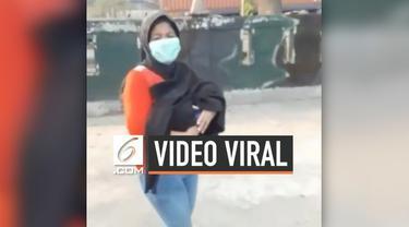 Viral perempuan membawa jenazah bayi yang meninggal di Cilincing, Jakarta Utara, Rabu (18/9/2019).