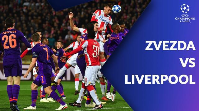Berita video Liverpool tumbang 0-2 dari tuan rumah Crvena Zvezda pada matchday keempat Grup C Liga Champions, di Stadion Rajko Mitic, Beograd, Selasa (6/11/2018)