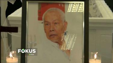 Pendiri Warkop DKI Rudy Badil meninggal dunia usai dirawat di rumah sakit akibat pendarahan di bagian kepala.