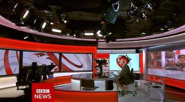 Presenter BBC Ketahuan Pakai Celana Pendek Saat Bawakan Berita Langsung di Televisi