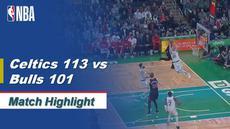 Berita Video Highlights NBA 2019-2020, Boston Celtics Vs Chicago Bulls 113-101