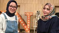 Nagita Slavina dan Nissa Sabyan (Foto: Instagram/raffinagita1717)