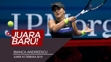 Berita video Bianca Andreescu menjadi juara baru di AS Terbuka (US Open) setelah pada partai final mengalahkan Serena Williams.