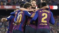 3. Barcelona – Melihat gelandang Barcelona yang sudah tua membuat mereka harus mencari gelandang muda berkualitas, Itu sebabnya Rabiot menjadi solusi efektif masalah Barcelona saat ini. (AFP/Lluis Gene)