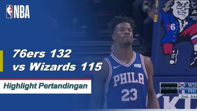 Landry Shamet datang dari bangku cadangan untuk mencetak 29 poin dan meraih tiga rebound saat Sixers menjatuhkan Wizards