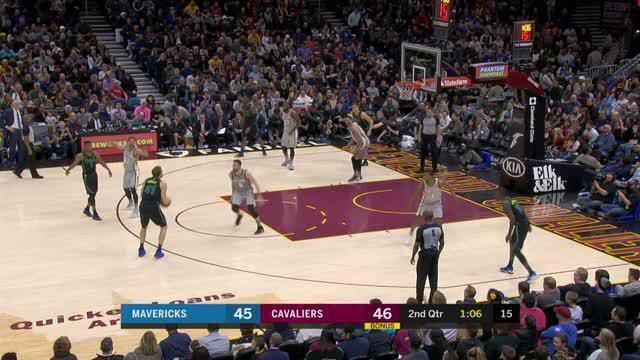 Berita video game recap NBA 2017-2018 antara Cleveland Cavaliers melawan Dallas Mavericks dengan skor 98-87.