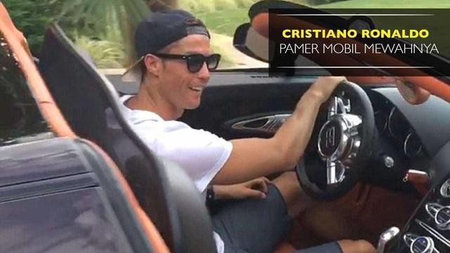 Video Cristiano Ronaldo memamerkan mobil mewahnya yang dibeli usai menjuarai Piala Eropa 2016.