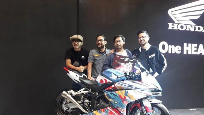 Desain Naga Jadi Pemenang Honda CBR 250 RR Virtual Modification. (Liputan6.com/Luthfie Febrianto)
