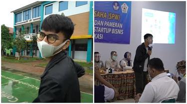 6 Momen Dimas Ahmad Kunjungi Sekolahnya, Isi Workshop dan Bayar Sisa Tunggakan