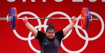 Nurul Akmal merupakan atlet angkat besi asal Aceh yang tampil di kelas +87 Kg dalam Olimpiade Tokyo 2020. Lahir pada 12 Februari 1993, Nurul Akmal sendiri adalah anak seorang petani di Desa Serba Jaman, Tunong. (Instagram/nurulakmal_12).