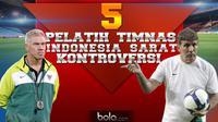 5 Pelatih Timnas Indonesia yang Penuh Kontroversial (bola.com/Rudi Riana)