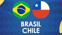 Copa America - Brasil Vs Chile (Bola.com/Adreanus Titus)