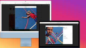 Pengguna Instagram Kini Bisa Posting Foto dan Video dari Desktop