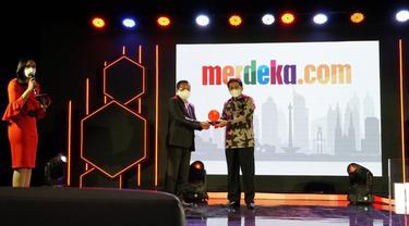 Kementerian Pertanian (Kementan) raih penghargaan di Merdeka Award 2021.