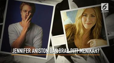 Beredar kabar Jennifer Aniston dan Brad Pitt akan segera menggelar pesta pernikahan berkonsep negeri dongeng