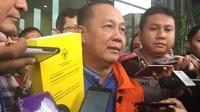 Tersangka Kasus SKL BLBI Syafruddin Temenggung. (Liputan6.com/Lizsa Egeham)
