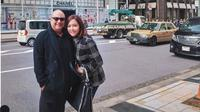 Maia Estianty dan Irwan Mussry liburan di Jepang. (dok.Instagram @maiaestiantyreal/https://www.instagram.com/p/BuVWdXzlLto/Henry