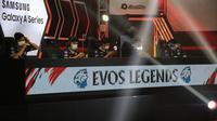 Tim EVOS Legends berhasil bangkit pada pertarungan hari terakhir pekan pertama MPL Season 7.  (FOTO / MPL ID)