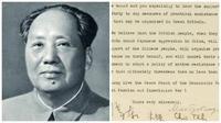 Surat Langka Mao Zedong kepada Inggris Terlelang Rp 12.7 Miliar (Sotheby's/BBC)