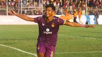 Septian Satria Bagaskara bakal diberi kesempatan tampil lebih banyak di BRI Liga 1 agar kepercayaan dirinya pulih kembali. (Bola.com/Gatot Susetyo)